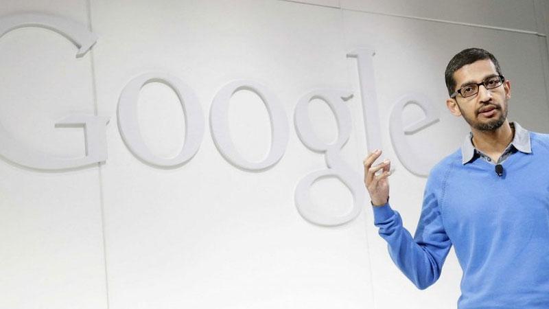 Google News Sundar Pichai Became CEO ar Parent firm Alphabet