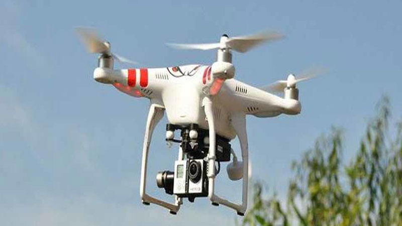 before Ayodhya verdict Suspicious drone fly in Surat sky Gujarat