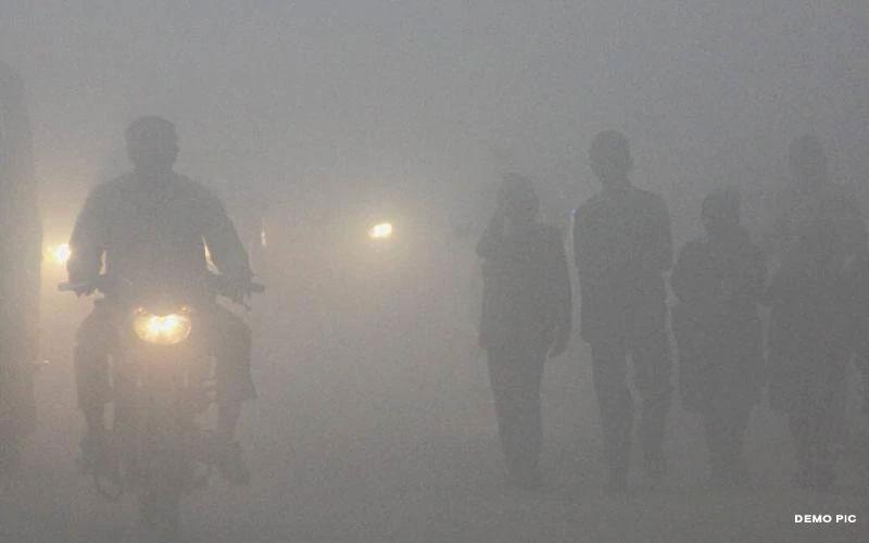 વાવાઝોડાની અસર, દરિયાઇ વિસ્તાર આસપાસ વિઝિબિલિટી ઝીરો