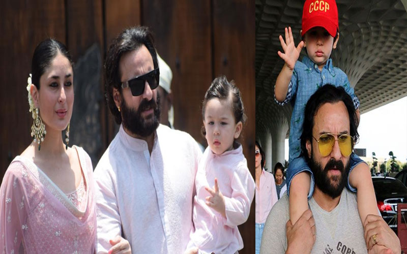 kareena kapoor revealed me and saif watch tv after taimur goes to sleep
