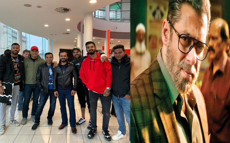 salman khan thanked team india for watching his film bharat
