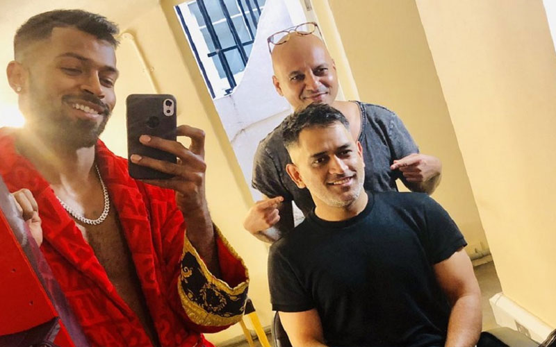 Virat Kohli, MS Dhoni, Hardik Pandya Get New Hairstyles After India's Win Over Pakistan, See Pics