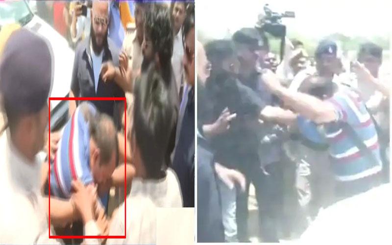 Tej Pratap Yadav's personal security guards beat up journalist
