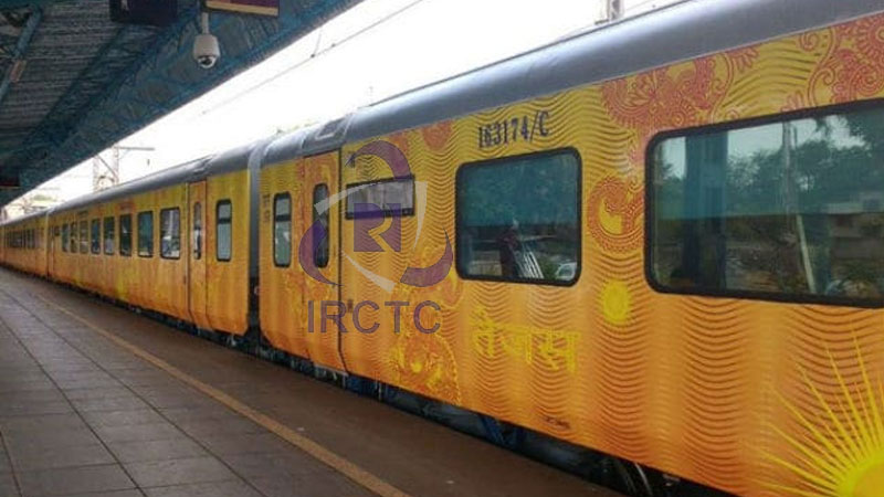 IRCTC Indian railway indias first private passengers train who give you payout if late by over one hour