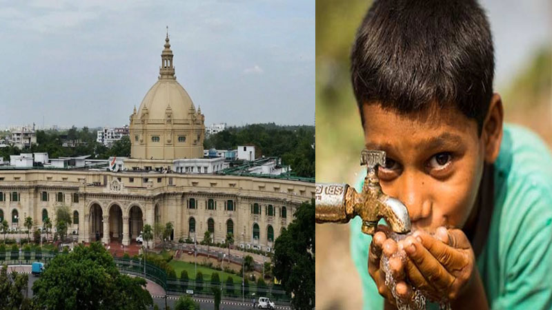 Lucknow: UP Assembly decides to follow half glass water policy