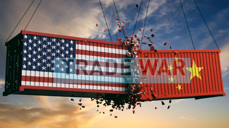 US and China trade war flares again worst impact on market