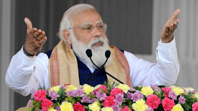 People who are conspiring to defame India have stooped so low that they're not sparing even Indian tea : MODI