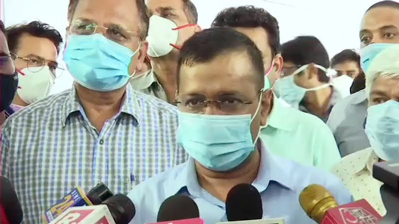 vaccination for the 18 category halted in delhi from sunday says cm arvind kejriwal centre