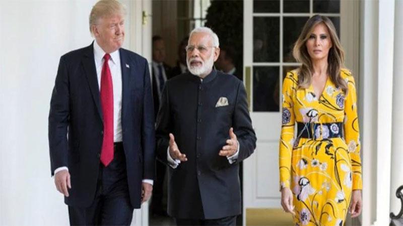 Namaste Trump Program black outfit ban