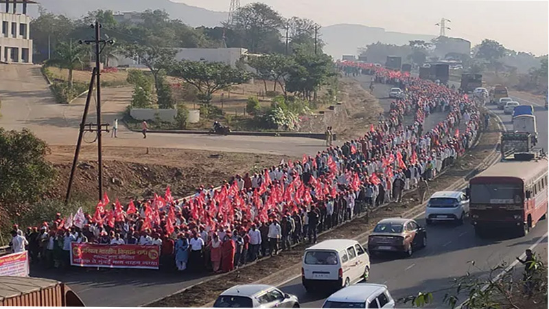 farmers-protest-nashik-in-maharashtra-thousands-of-farmers-march-to-join-farm-laws-protest