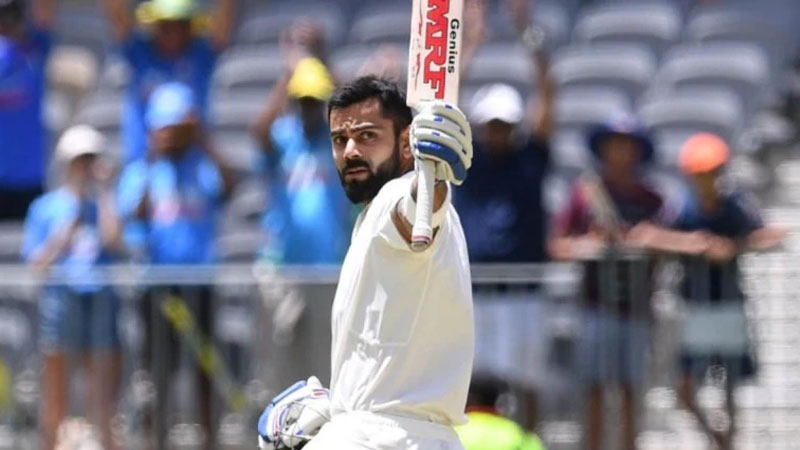 Virat Kohli maintains number one spot in ICC Test Rankings