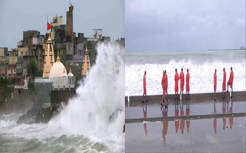 Vayu Cyclone in gujarat
