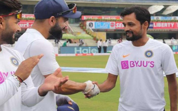 Shahbaz Nadeem becomes 296th player to get Indian Test cap know who was 1st Indian Test player