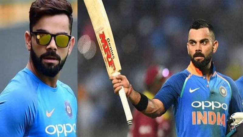 Indian captain virat kohli is most followed cricketer