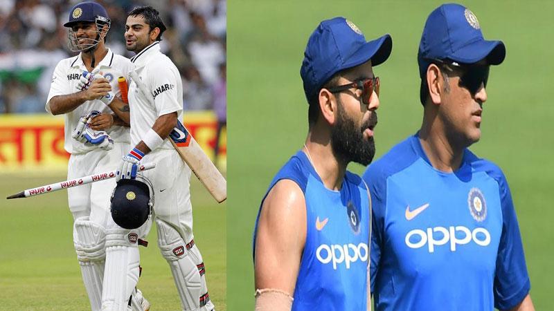 Indian Captain Virat Kohli Close To Equalling Ms Dhoni Test Captaincy Record