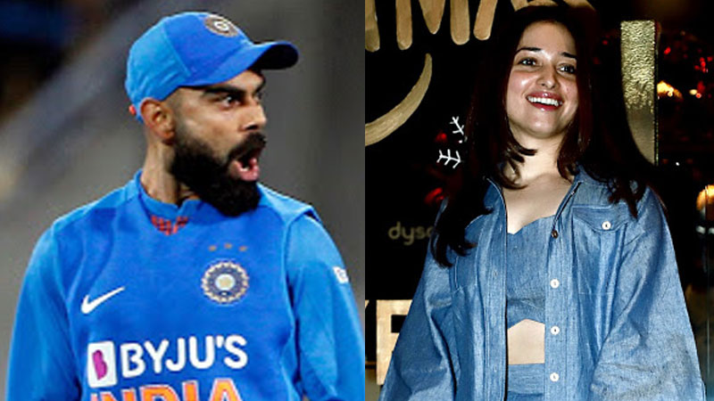 Virat and tamanna gets notice for fantasy online gaming app
