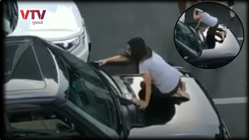 Angry wife chases husband's car, blocks traffic on Peddar road during a spat