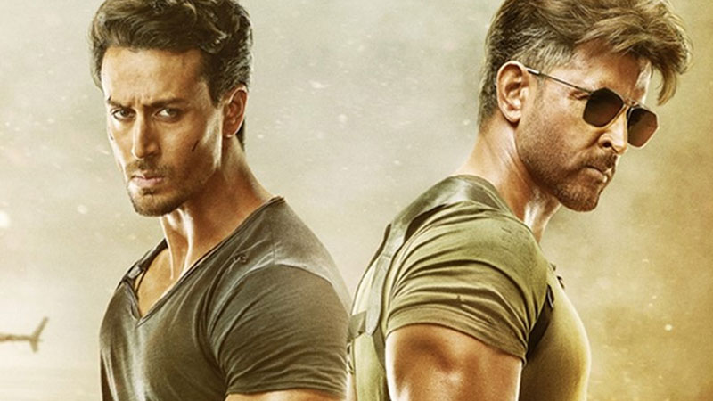 War day 3 box office collection tiger shroff Hrithik Roshan movie business