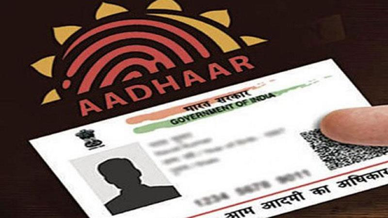 aadhaar card required documents for proof of identity and dob documnets
