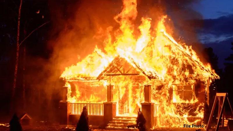 madhya pradesh gwalior fire in house death toll shivraj government