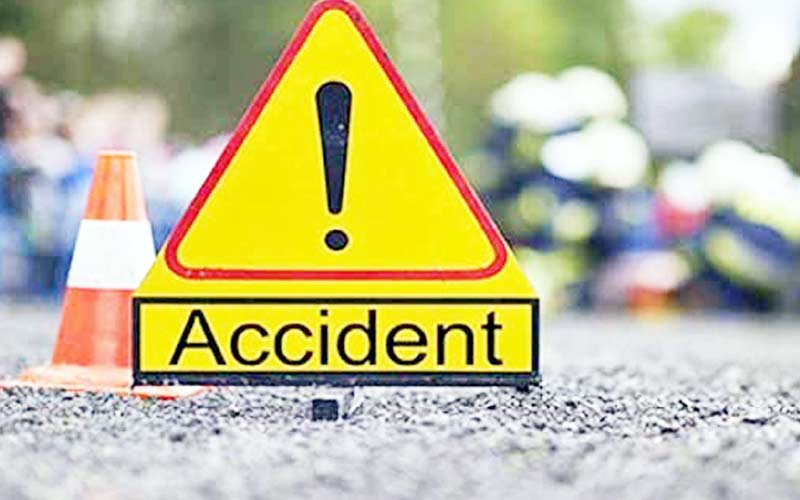 Eicher vehicle Accident five sister one brother death