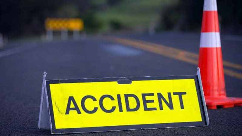 Road Accident at Gandhinagar two student death