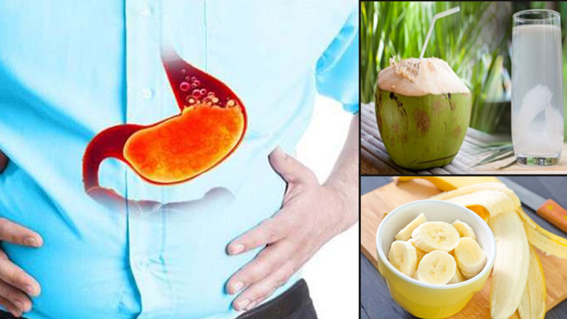 To Avoid Acidity and gas problem Use these 5 foods in your diet
