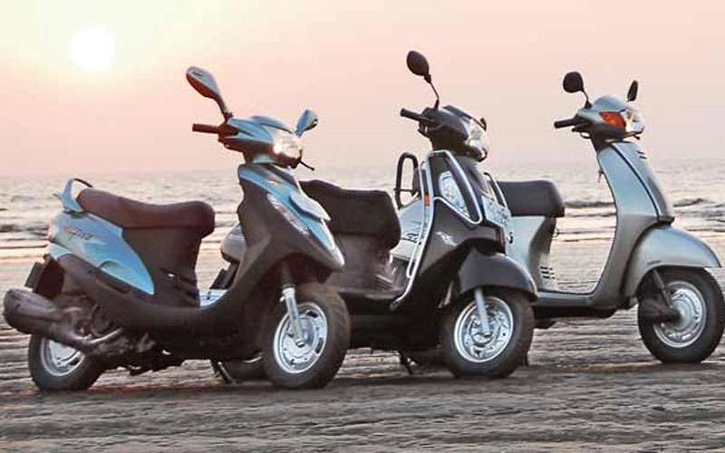 Buy Honda Activa To Hero And TVS Used Scooter At Half Price In India