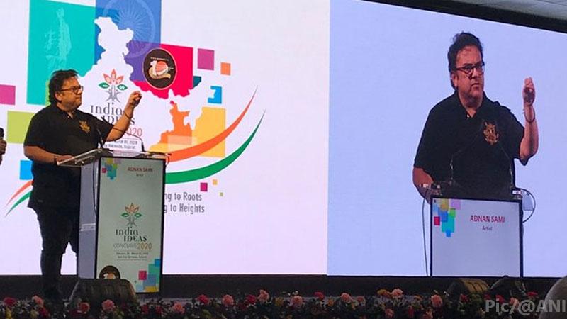 Adnan sami caa delhi Violence india ideas conclave 2020 Narmada