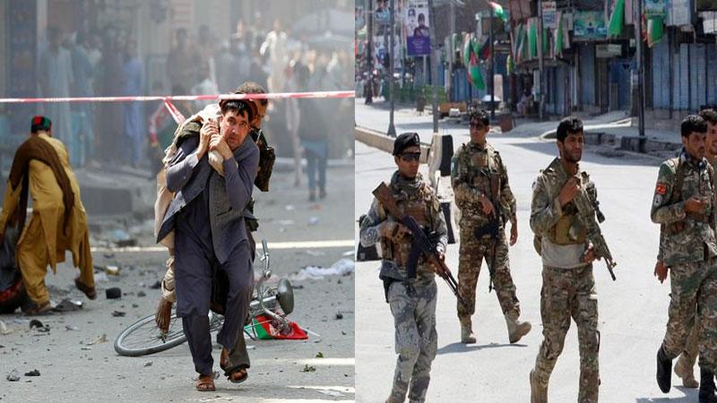 Serial blasts in afghanistan jalalabad on independence day 66 injured