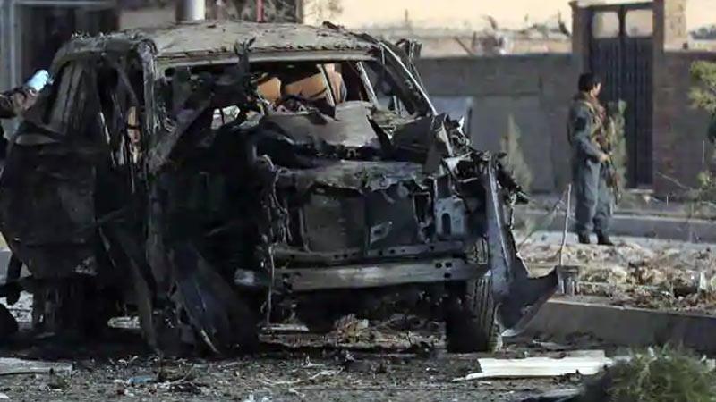 afghanistan car bomb blast people killed