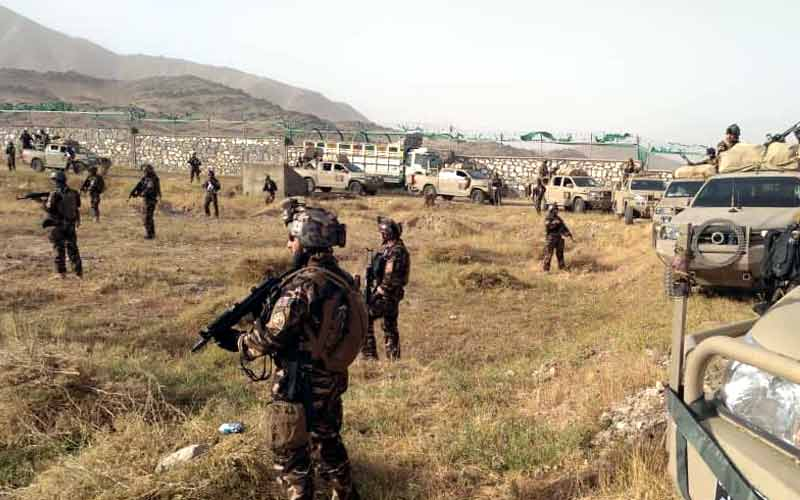 afghan security forces kill almost 100 taliban fighters