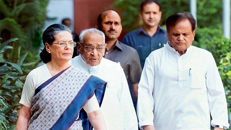 Gujarat Rajya Sabha Election 2020 Congress candidate back nomination form
