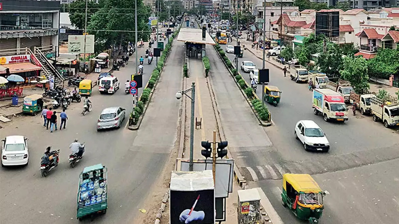 Ahmedabad bopal ghuma property tax user charg meter
