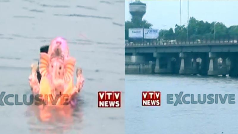 ganesh visarjan 2019 ahmedabad sabarmati river