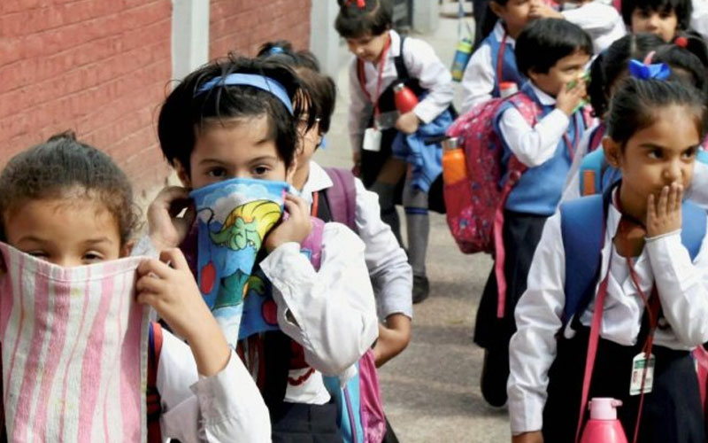 report says 1 lakh kids under 5 years of age die due to air pollution each year government says schemes have not been...