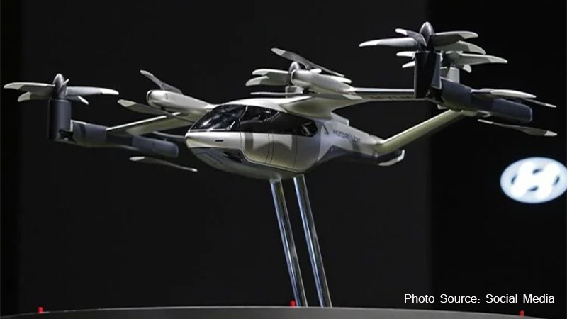 personal air vehicle hyundai partnership with uber elevate to make flying electric air taxi