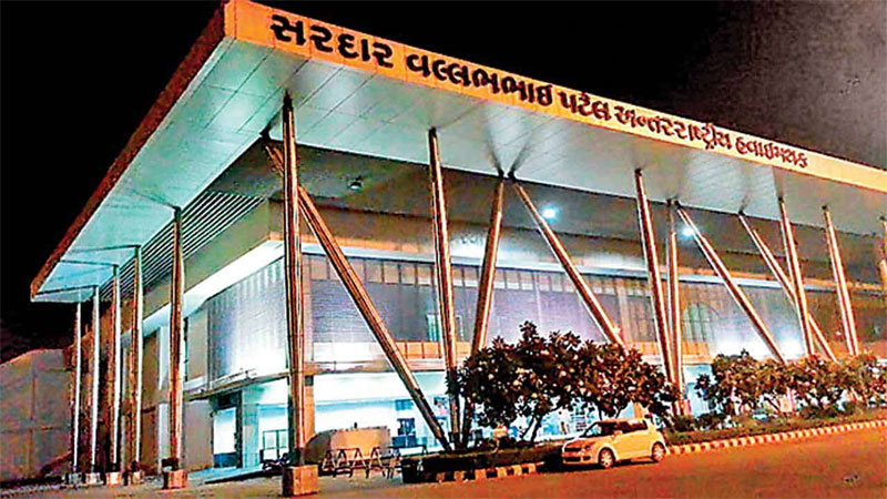 Ahmedabad international airport immigration department caught 3 illegal go to UK