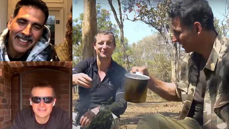 akshay Kumar Used To Drink Cow Urine He Told To Into The Wild With Bear Grylls During Insta Live