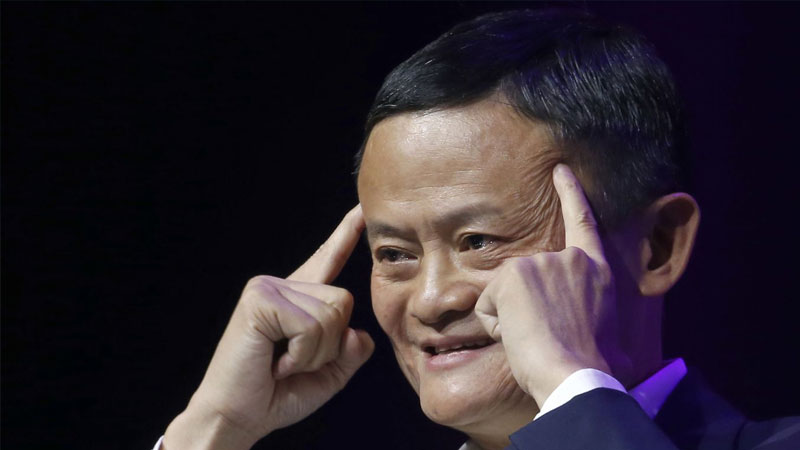 A glimpse of Jack Ma led to a surge in Alibaba shares
