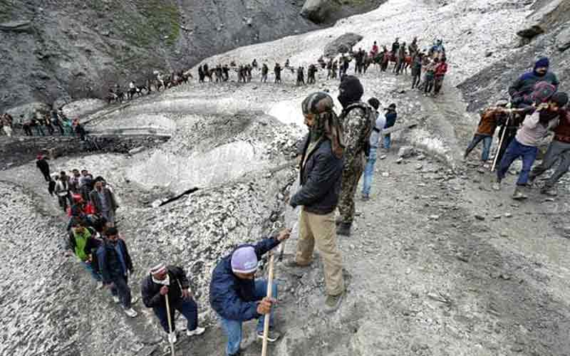 Alert issued as terror attack threat looms over Amarnath Yatra
