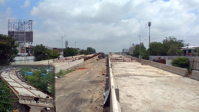 Ahmedabad new over bridge start December