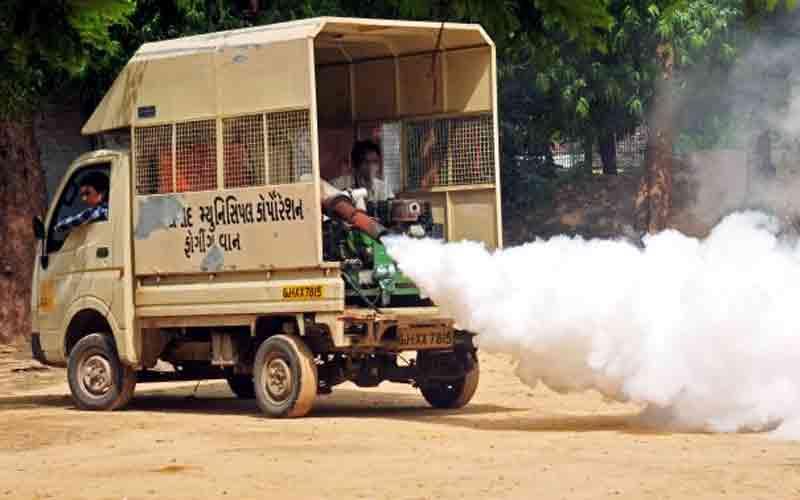 Ahmadabad Municipal Corporation purchase fogging van