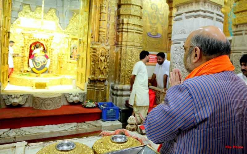 Amit shah to visit somnath Temple
