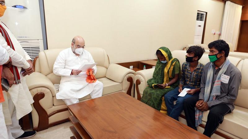 Union minister Amit shah visit west bengal