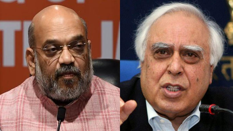 congress kapil sibal slams bjp amit shah over president rule in maharashtra says he knows how to break political parties...