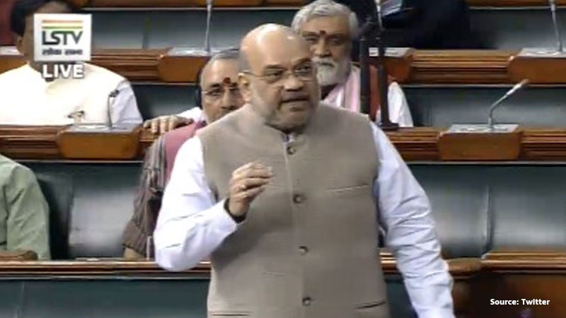 Cong Kept Farooq Abdullah's Father in Jail for 11 Yrs Says Amit Shah on Kashmir Debate