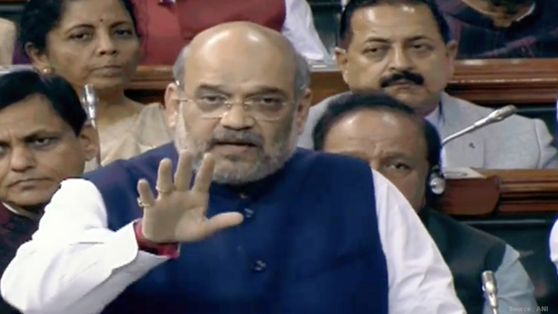 attempted to give political color to delhi violence amit shah said in lok sabha