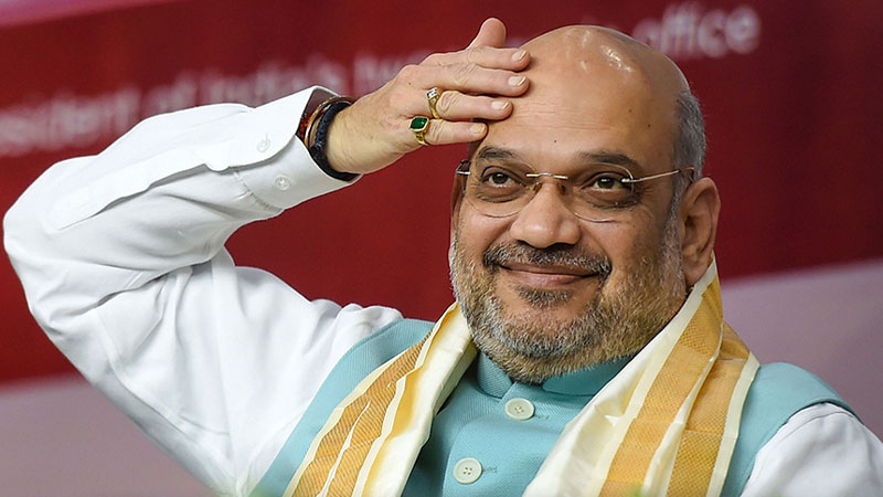 maharashtra assembly polls 2019 we can go that far amit shah on if bjp can form government on its