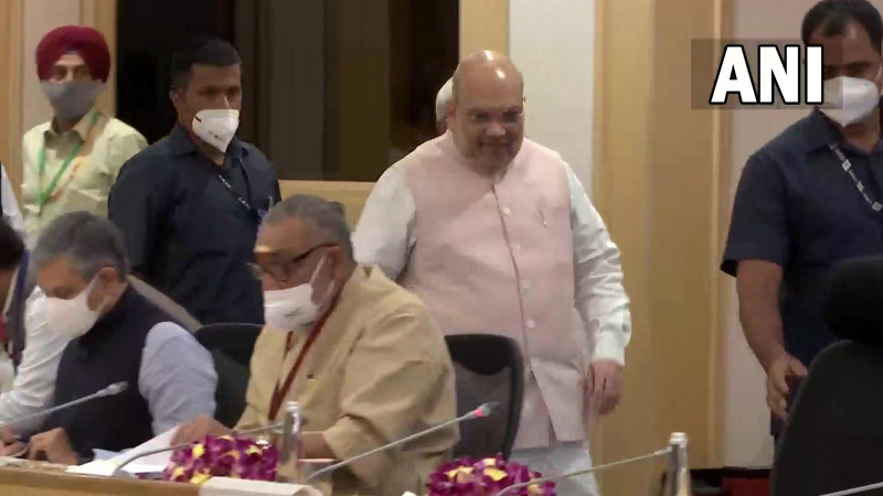Home Minister Amit Shah held a big meeting on the issue of Naxalism
